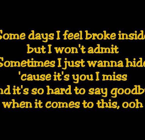 Aguilera hurt lyrics
