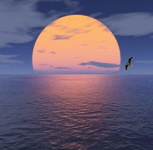Как хорошо ты, о море ночное