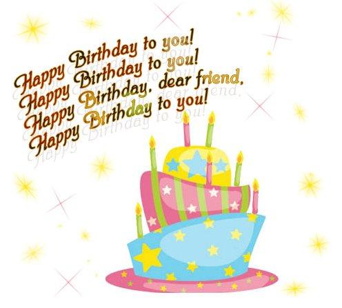 поздравление с днем рождения подруге на английском с переводом